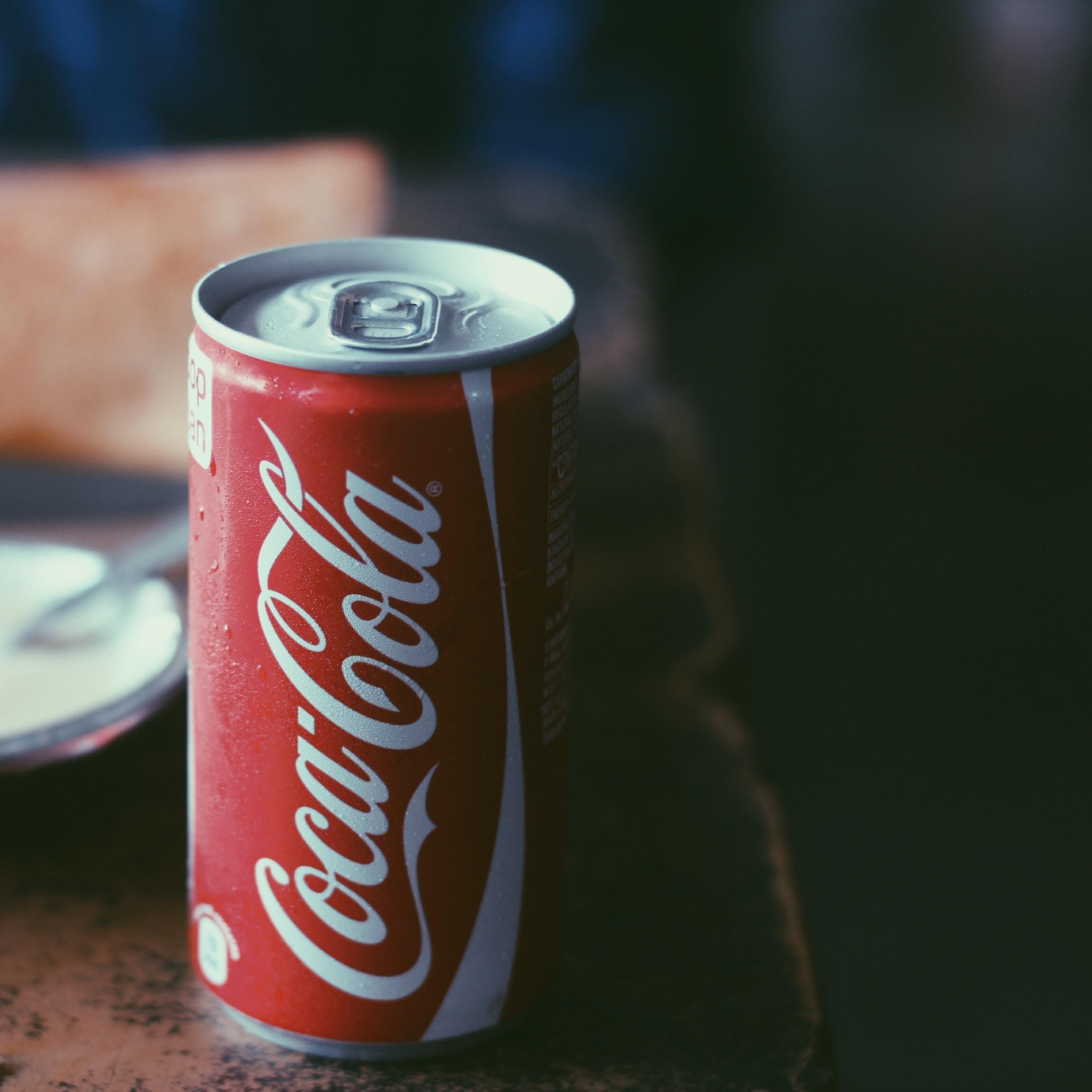 closeup photo of Coca-Cola